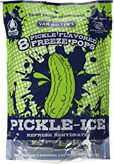 Van Holtens – Pickle Ice Freeze Pops – 8 Pack