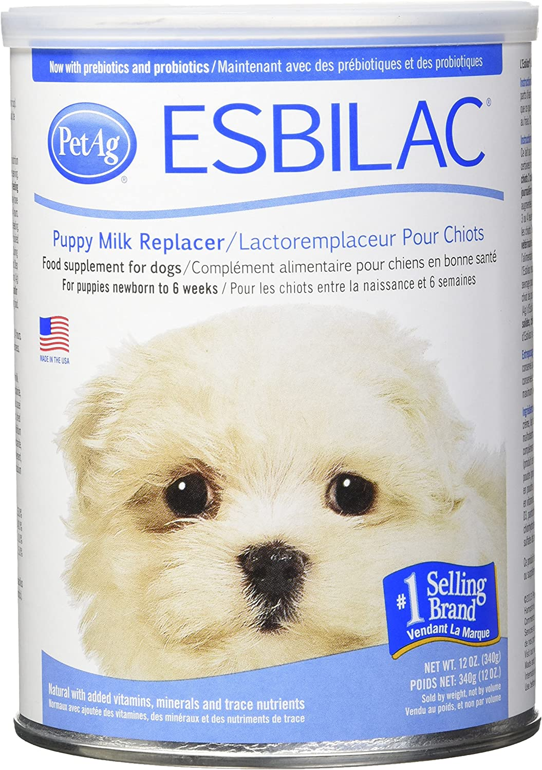 Esbilac Powder Milk Reperter for Puppies *Dogs 350