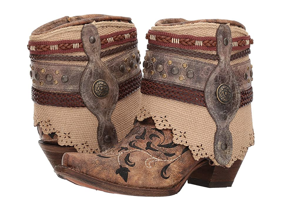 Corral Boots A3463 (Cognac) Cowboy Boots