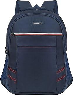 Priority Hotstar 26 40 litres Blue Polyester College Bag   Laptop Backpack for Boys & Girls (24167)