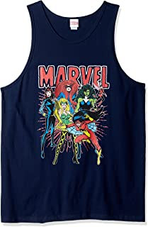 Marvel Women's Official Men's Tank Top