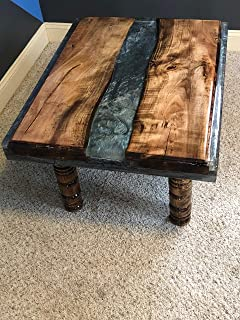Coffee Table, Live Edge Table, Spalted Maple Table, Epoxy Coffee Table, Reclaimed Wood Coffee Table, Rectable Living Room Coffee Table, Rustic Coffee Table