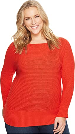 Lucky Brand - Plus Size Off Shoulder Sweater