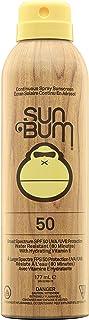 Sun Bum Original SPF 50 Sunscreen Spray, Vegan and Reef Friendly (Octinoxate & Oxybenzone Free) Broad Spectrum Moisturizin...