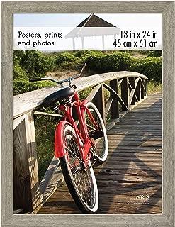 MCS 68865 Museum Poster Frame Barnwood 18x24 Inch, 1 Frame