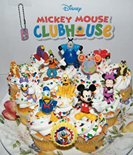 Disney Mickey Mouse Clubhouse Deluxe Mini Cake Toppers Cupcake Decorations Set Of 14 With Figures