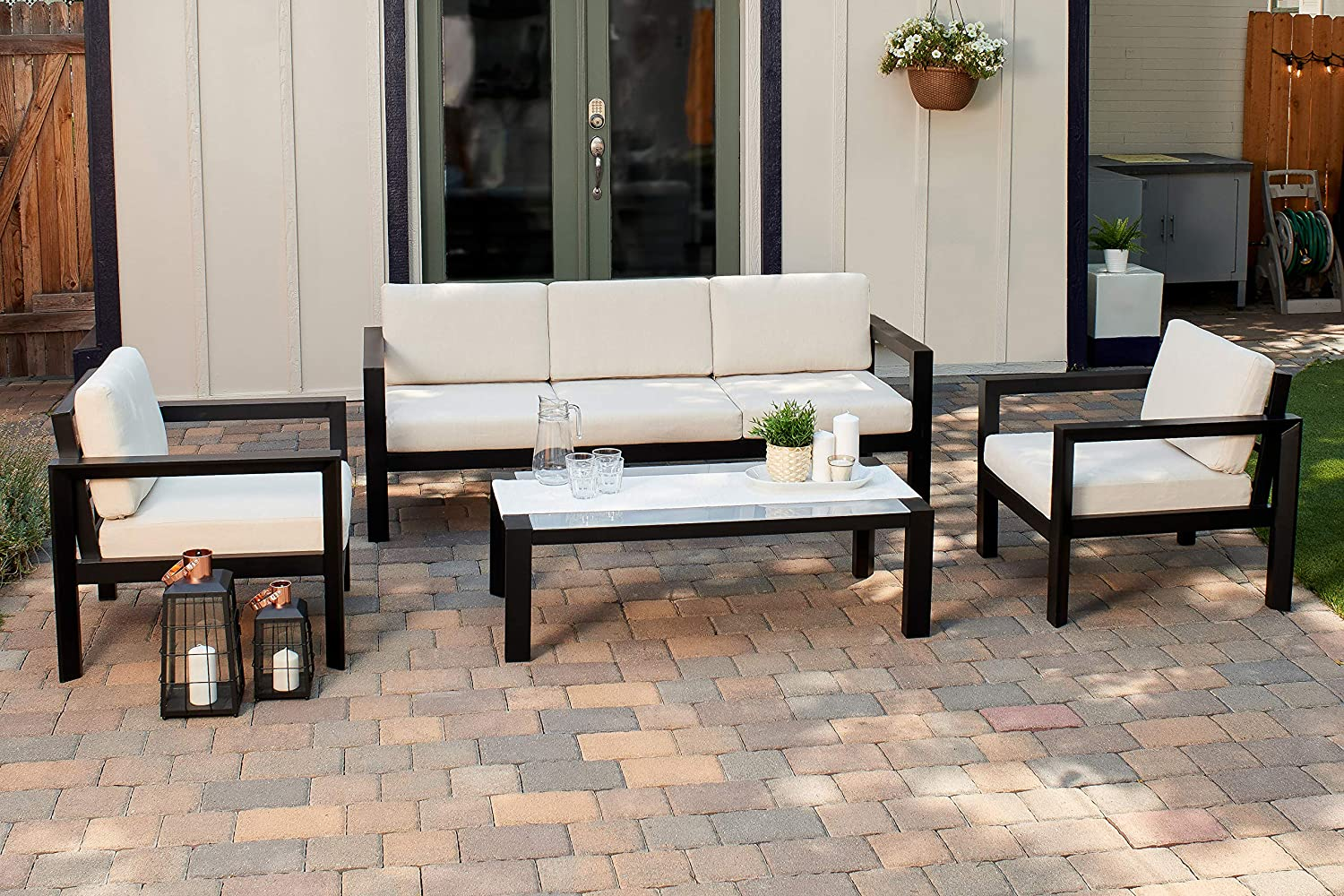 Quality Outdoor Living 65-YZ04MY Large-scale sale OFFicial site Monterey Deep S 4-Piece