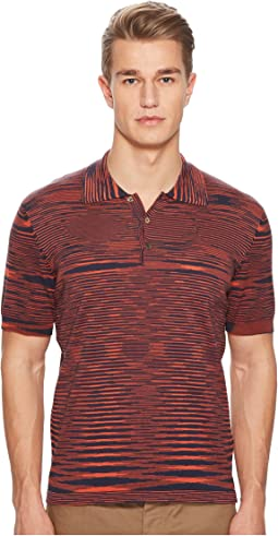 Missoni - Fiammato Pima Cotton Polo Sweater