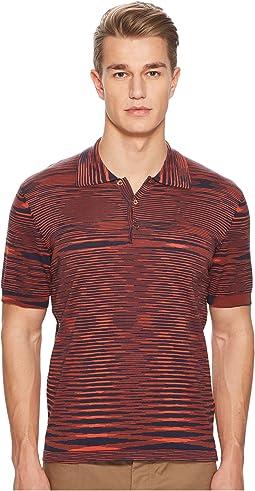 Fiammato Pima Cotton Polo Sweater
