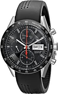 TAG Heuer Men's CV201AH.FT6014 Self-Wind Stainless Steel Watch