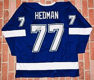 victor hedman signed jersey