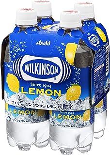 アサヒ飲料 ウィルキンソン タンサン レモン マルチパック (500ml×4本)