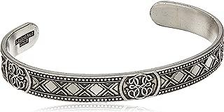 Alex and Ani Men's Path of Life Cuff Bracelet, Rafaelian Silver, Expandable
