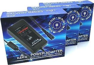 Bloc d'alimentation Playstation 2 PS2 Slim Adaptateur secteur avec prise EU compatible pour la console Sony PS2 70000 Slim...
