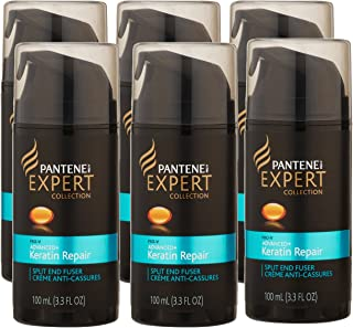 Pantene Pro-V Expert Collection Advanced Keratin Repair Split End Fuser Hair Product, 3.3 Ounce, (Pack of 6)