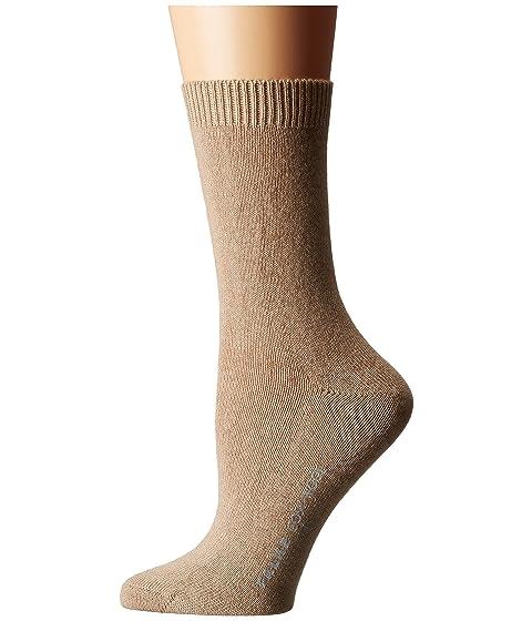 Falke calcetín acogedor de camello lana 1HOz1