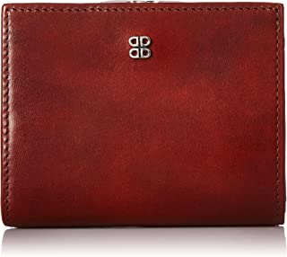 Bosca Women's Old Leather Frame Petite French Purse