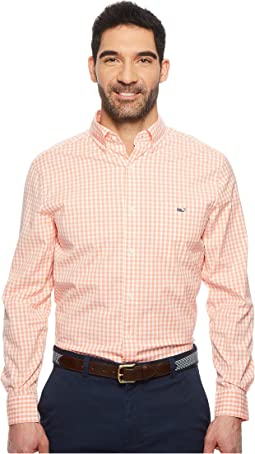 Vineyard Vines Carleton Gingham Classic Tucker Shirt
