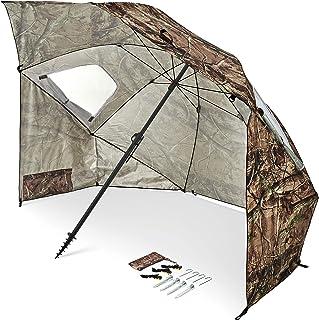 Sport-Brella Premiere XL UPF 50+ Umbrella Shelter for Sun and Rain Protection (9-Foot)