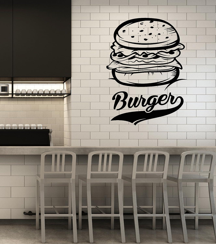 Wall Sticker Freshly Made Sandwiches Cafe Restaurant Pub Vinyl wall art Decal