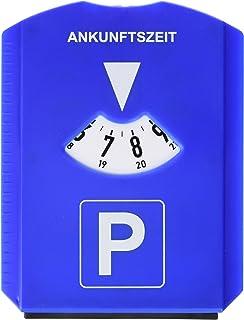 Hama 0083958 multifunctionele parkeerschijf, kunststof, 120 x 155 x D8 mm, blauw