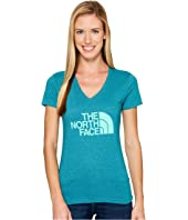 The North Face Short Sleeve Half Dome V-Neck Tee