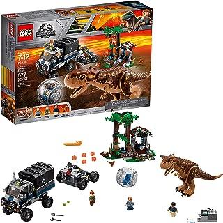 LEGO Jurassic World Carnotaurus Gyrosphere Escape 75929 Building Kit (577 Piece) (Renewed)