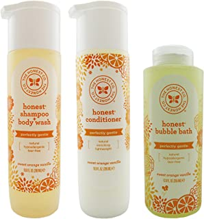 The Honest Company Shampoo & Body Wash, Conditioner, and Bubble Bath Variety Pack