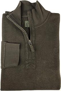 Timberland Men's Long Sleeve Cotton Quarter Zip Sweatshirt