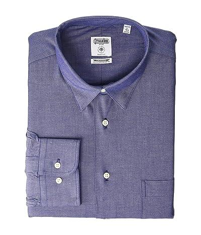 Allen Edmonds Gitman Bros Shirt (Light Blue Chambray) Men