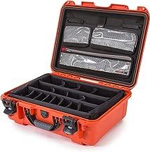Nanuk 930 Waterproof Hard Case with Lid Organizer and Padded Divider - Orange