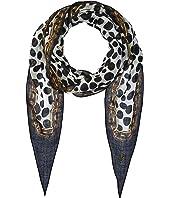 Marc Jacobs - Animal Print & Chains Diamond Stole