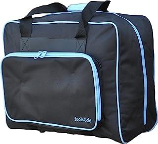 comprar comparacion foolsGold Bolsa Acolchada para Transportar la Máquina de Coser - Negro/Azul