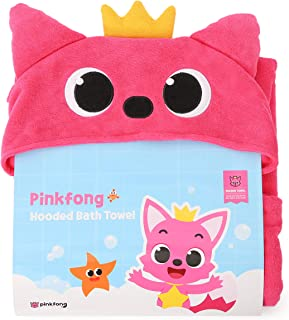 PINKFONG Hooded Bath and Beach Towel