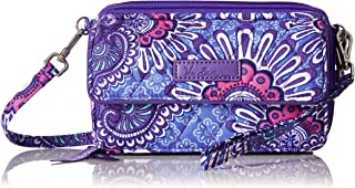 Women's Signature Cotton All in One Crossbody Wristlet