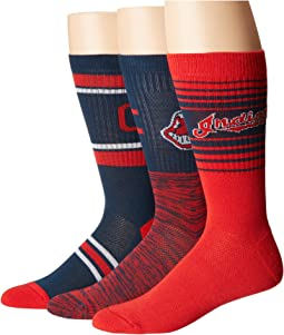 Stance - Indians Team 3-Pack