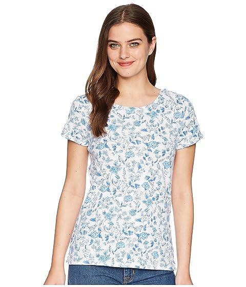 de Air Ditsy Nules estampado Camiseta con Sea jersey Joules de White C7XXzqHw