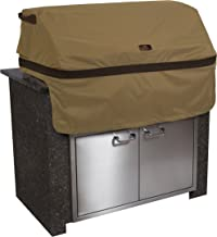 Classic Accessories Hickory Cover For Built-In Grills, Medium, Tan