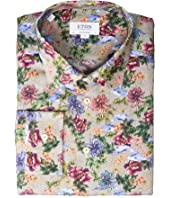 Eton - Contemporary Fit Floral Print Button Down Shirt