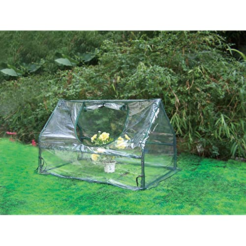 Biotop B2073 - Mini Invernadero PVC de Suelo, 100 x 60 x 60 cm