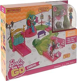 Barbie ®   On The Go Theme Park Doll Playset