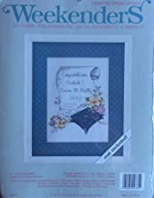 Weekenders Counted Cross Stitch Kit (TO THE GRADUATE)