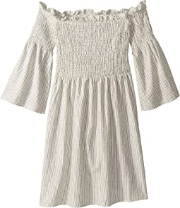 Amaya Shirred Dress (Big Kids)