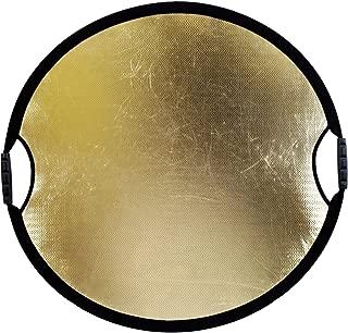 California Sun Mover Collapsible Pop-Up Reflector (32-Inch Diameter) (Zebra/White)