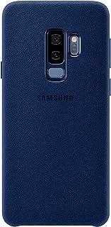 Genuine Original Official Samsung Galaxy S9+ Plus Alcantara Cover Back Case - Blue - EF-XG965ALEGWW