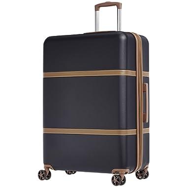 Amazon Basics Vienna Spinner Suitcase Luggage - Expandable with Wheels - 30.7 Inch, Black