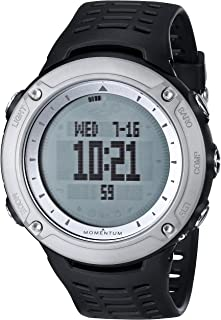 Momentum Unisex 1M-SP46B1B VS-3 Digital Watch with Black Band
