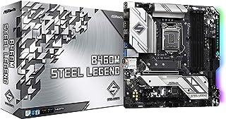 ASRock Intel 第10世代CPU(LGA1200)対応 B460チップセット搭載 Micro ATXマザーボード 【国内正規代理店品】 B460M Steel Legend
