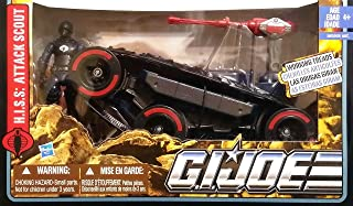 G.I. Joe Pursuit of Cobra (POC) H.I.S.S. Attack Scout with HISS Tank Driver Action Figure