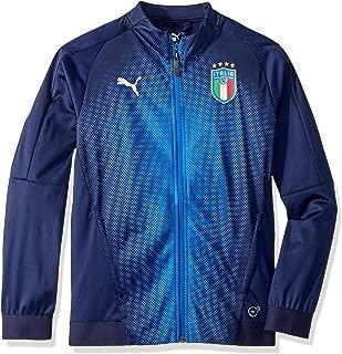 PUMA Boys' Big FIGC Italia Stadium Jacket Kids